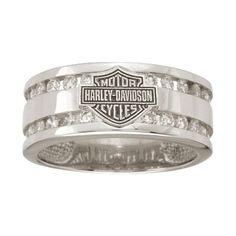 Harley-Davidson® Men's Wedding Ring WRG475D