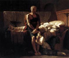 Pierre-Narcisse Guerin (Pierre Narcisse Guerin) (1774-1833) The Return of Marcus Sextus Oil on canvas 1799 243 x 217 cm (7 11.67 x 7 1.43)