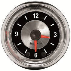 Auto Meter 1284 American Muscle Clock SKU: 13370518   Auto Meter 1284 American Muscle Clock 2 1/16 in. - Full Sweep See Full List of Vehicle Applications » Pricing: $121.50  http://bit.ly/Y8qeUv