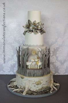 So cute...Is the dimensional cake something that people are going for now? I'm seeing a lot of this kind of style. cake decorating ideas