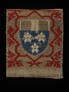 Textile fragment Place of origin: Köln (city), Germany (probably, made) Date: ca. 1450 to 1500  Materials and Techniques: Woven silk Museum number: 847-1899 | V&A