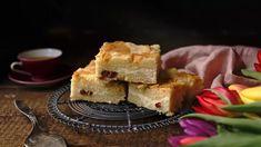 Hrnkový sypaný švédský koláč s tvarohem a rozinkami Waffles, Cake Recipes, Pie, Breakfast, Desserts, Cakes, Torte, Morning Coffee, Tailgate Desserts