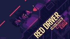 Red Driver by kirokaze