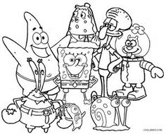 14 Best Spongebob Party Games Images
