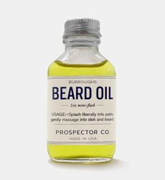 prospector Co. 'skin care products for the modern man'