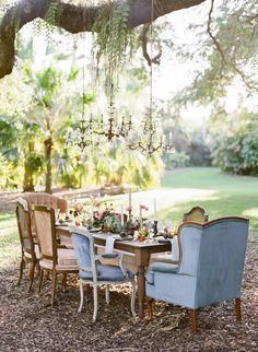Stunning outdoor party!