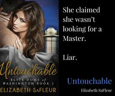 Free Book #Excerpt of this new steamy contemporary romance (Note: BDSM elements).   A little Saturday morning reading. Untouchable, new steamy, BDSM - themed romance. http://www.elizabethsafleur.com/blog/untouchable-new-steamy-contemporary-romance-free-excerpt-and-pre-order-discount