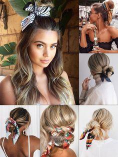 Красивые прически с платком: модные идеи для вдохновения Beauty Makeup, Hair Makeup, Hair Beauty, Mommy Hairstyles, Fashion Background, How To Make Hair, Hair Jewelry, Hair Looks, Hairdresser