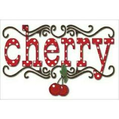 I Need this is my cherry world Cherry Baby, Cherry On Top, Cherry Tree, Cherry Blossom, Cherry Cherry, Cherry Hill Park, Cherry Delight, Cherry Recipes, Cherry Ideas