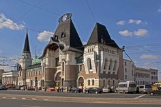 Moscow. Three Station Square.