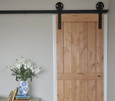 Vintage Sliding Barn Door Hardware by NWArtisanHardware on Etsy, $235.00