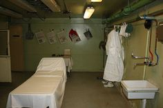 Revamp: Three rooms of the bunker have been refurbished and equipped as they were during the Cold War
