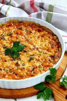 Juustokinkkupiirakka Baking Recipes, Healthy Recipes, Good Food, Yummy Food, Salty Foods, Savoury Baking, Swedish Recipes, Food Tasting, Frugal Meals
