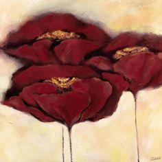 Artwork: poppy flowers
