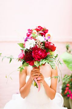 Fuchsia Bouquet | photography by http://www.adriennegunde.com