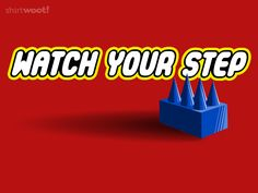 Watch Your Step for $15 on woot! I step on my Lego's all the time. It really hurts!