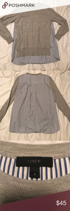 J. Crew sweater Super cute!! J. Crew Sweaters Crew & Scoop Necks