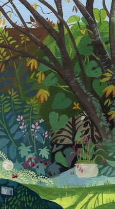 Solène Chevaleyre | Oh, le joli jardin de ma maman.