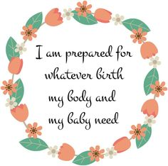 To continue our spotlight on caesarean births for International Caesarean Awareness Month, I decided to work on an updated version of some caesarean birth affirmations I had made in the past. The...