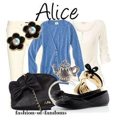 fashion-of-fandoms - 118 results for alice Alice In Wonderland Outfit, Alice Cosplay, Character Inspired Outfits, Fandom Fashion, Fat Face, Disney Dresses, Disneybound, Disney Style, Betsey Johnson