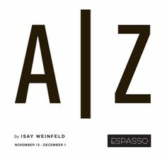 We invite you to join us for an unprecedented and unique exhibition called A to Z by Isay Weinfeld- world-renowned Brazilian architect and designer. ESPASSO will present an installation designed by Weinfeld, as well as conceptual short films that will take guests on a virtual tour of some of his most visionary and celebrated buildings in Brazil. For additional information and current collections please visit www.espasso.com. #IsayWeinfeld #architecture #design