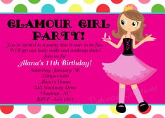 Glamour Girl party idea