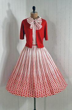 1950, vestidos de vuelo   Las Cosas de Mami
