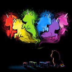 Unicorn Dreams   Funny, cute & nerdy shirts   TeeTurtle