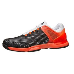 sports shoes a5847 201b2 Zapatillas Hombre adidas adizero ubersonic RojoNegro 360° View