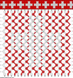 Картинки по запросу  flag friendship bracelet pattern