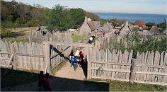 how to make a pilgrim village - Google Search