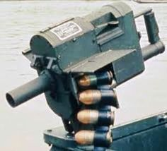 war in Vietnam by American troops rather successfully used single-shot 40 mm grenade launcher providing effective engagement of targets at ranges of up to meters. Weapons Guns, Guns And Ammo, Brown Water Navy, Vietnam War Photos, Concept Weapons, Firearms, Shotguns, Military Weapons, Military Equipment