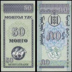 UNC Random Year 10 20 50 Mongo Mongolia Set 9 PCS 1 5 10 20 50 100 Tugrik