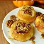 Sticky Pecan Mini-Buns | Recipe | Pecans, The Pioneer and The Pioneer ...