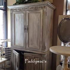 A beautiful example of wet sanding with chalk paint a decorative paint by Annie Sloan