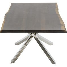 Couture Dining Table, Seared Oak Nuevo Living