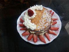 bolo de 3 meses de Ana Vitória