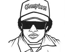 Rap, Coloring pages and Coloring on Pinterest