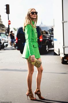 The Olivia Palermo Lookbook : Olivia Palermo at Paris Fashion Week : Look 7