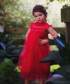 Another great find on #zulily! Crimson Allessandra Dress - Infant, Toddler & Girls #zulilyfinds