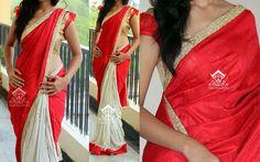 half and half saree 4