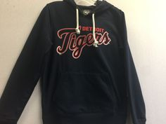 MLB Detroit Tigers Women's Shimmer MVP Cross-Check Hoodie