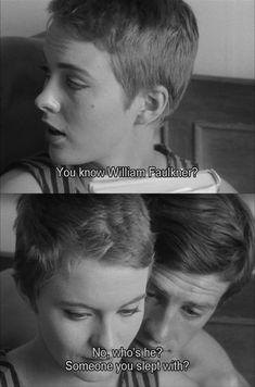"""""""Breathless"""" (1960) (""""A bout de souffle"""") byJean-Luc Godard (France) – with Jean Seberg and Jean-Paul Belmondo"""