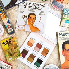 Mid-week makeup musts! Do you spot your favs? 😍 #MeetMatteShmaker #MeetMatteNude #BahamaMama #MaryLou #MadLash #BalmDesert #WomenEmpowderment #theBalm