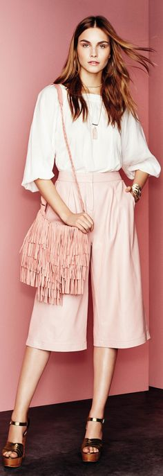 read about pantone pink for spring summer - http://www.boomerinas.com/2015/01/16/pantone-strawberry-ice-for-spring-summer-2015-wardrobes/