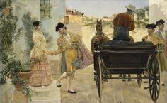 José Villegas Cordero (1844–1921) - Torero's Farewell, 1880 - El Hermitage trae a Ámsterdam el Siglo de Oro español - 20minutos.es