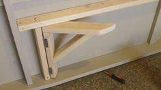 Amazing Folding Garage Workbench #14 Fold Down Garage Work Bench Hinges                                                                                                                                                                                 More