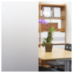 Accentuate the focal features of your window with the help of this BuyDecorativeFilm Non-Adhesive Frosted Privacy Static Cling Window Film. Frosted Window Film, Stained Glass Window Film, Home Office, Traditional Windows, Window Privacy, Window Films, Static Cling, Through The Window, Blinds For Windows