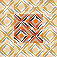 42 Quilts: Modern Monday - Block 9