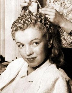 Marilyn Monroe hair Rose Bambi